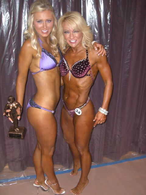 Kelsie - Sharing the stage and her first win with her mom