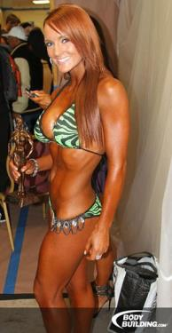 NPC Bikini Competition, Second Place