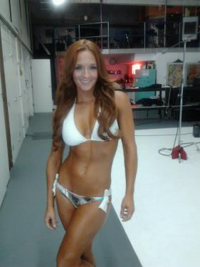 Behind the scenes of Fitness Gurls July 2011 Cover