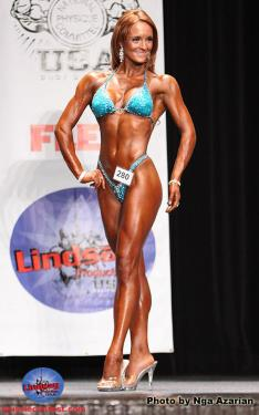 Another 4th place win at my fifth NPC Figure Competition